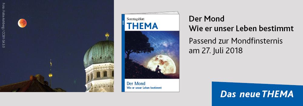 THEMA-Magazin Der Mond – wie er unser Leben bestimmt
