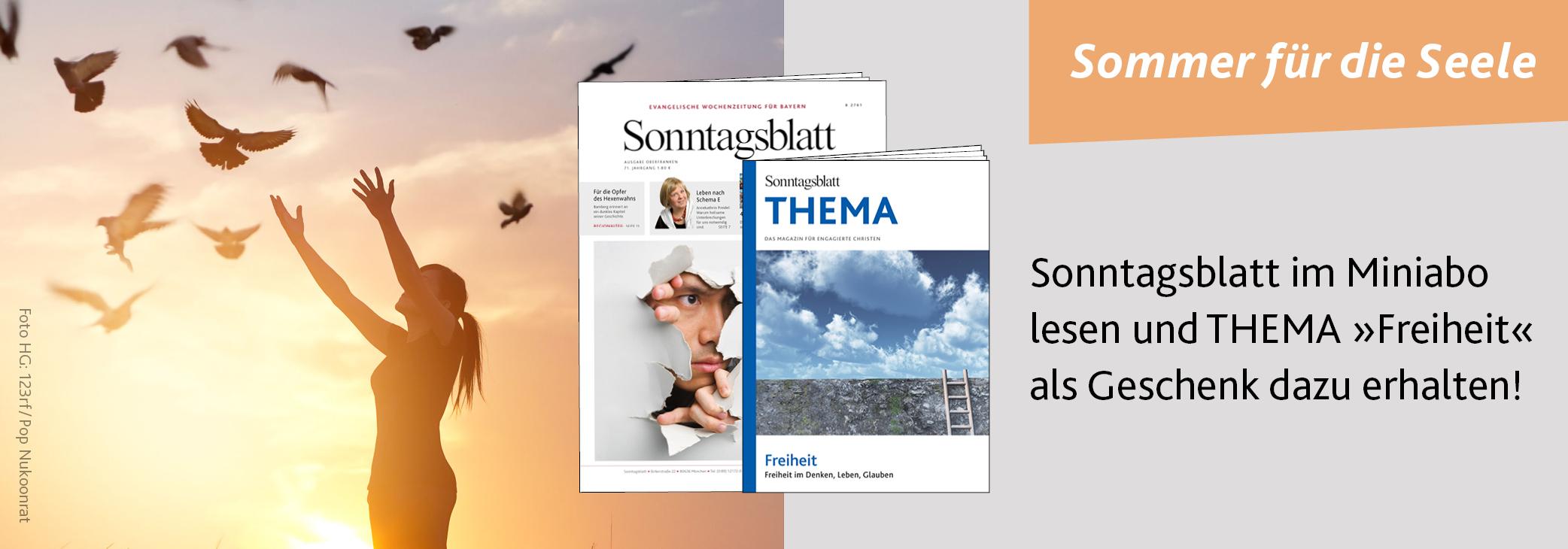 Sommer für die Seele - Miniabo Sonntagsblatt