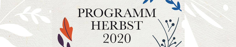 Neu im Herbst 2020