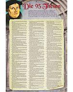 Die 95 Thesen nach Martin Luther